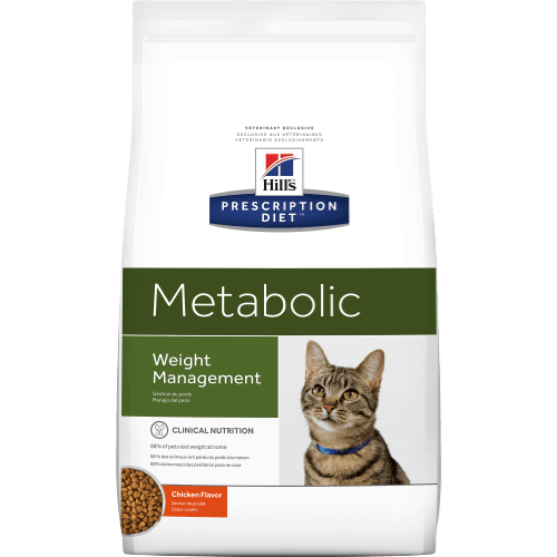 Weight reduction for overweight and obese cats