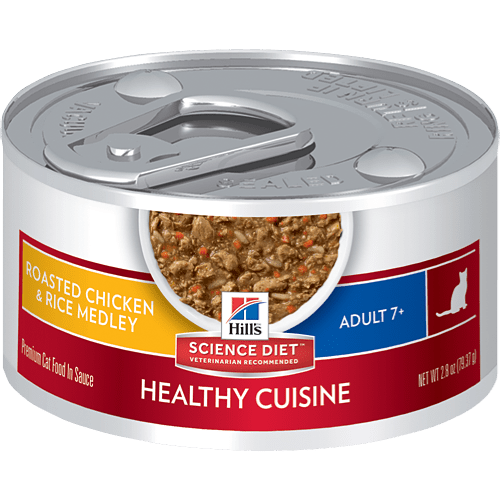 Hills Science Diet Adult 7 Healthy Cuisine Roasted Chicken