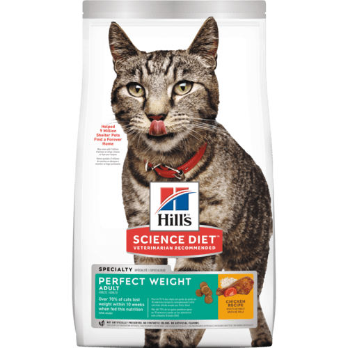 Over 70% of cats lost weight within 10 weeks* when fed this nutrition