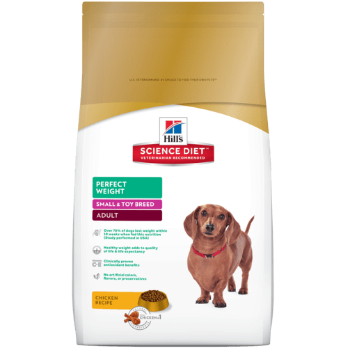 Breakthrough nutrition formulated to achieve & maintain a healthy weight & improve quality of life in small & toy breed dogs.